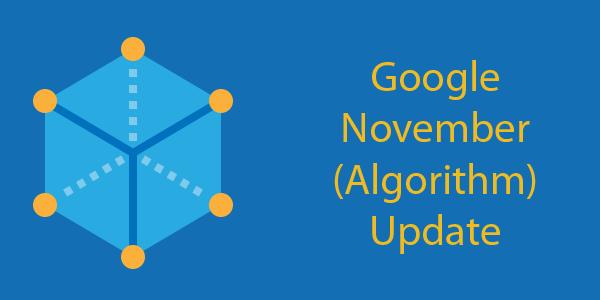 google november algorithm update issues